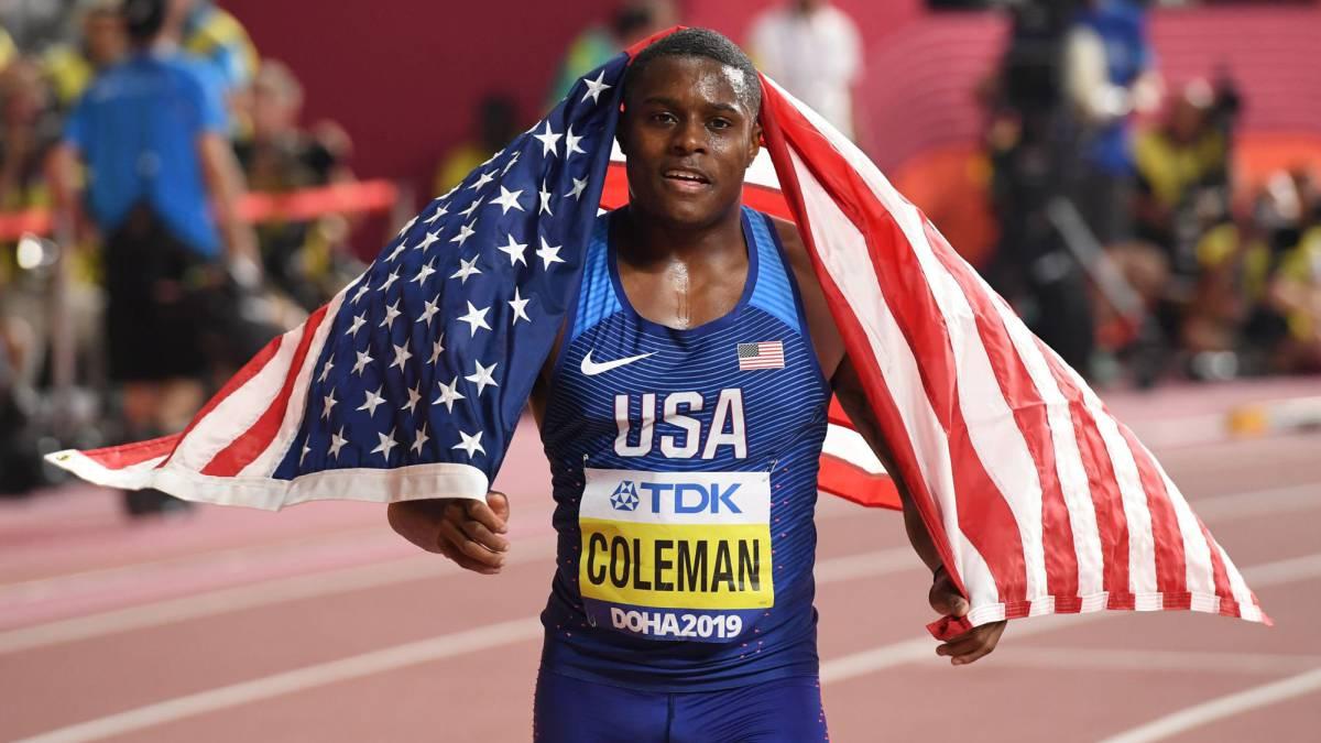 Atletismo   Chris Coleman, suspendido por faltar a otro control antidopaje  - AS.com