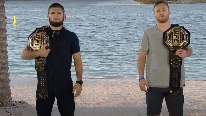 """Khabib, a Gaethje: """"Preparate para 25 minutos de wrestling"""" - AS.com"""