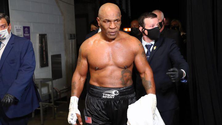 Resumen y resultados del Mike Tyson - Jones Jr: exhibición de boxeo - AS.com