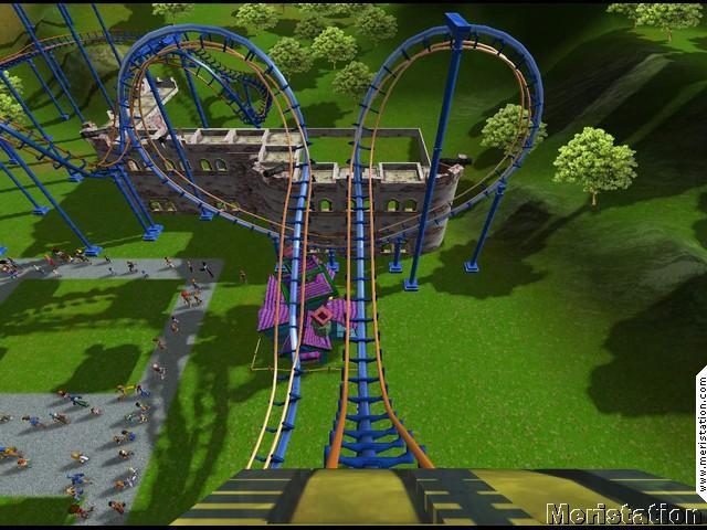 RollerCoaster Tycoon 3 estará disponible el día 5 - MeriStation