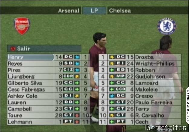 Imágenes de Pro Evolution Soccer 5 - MeriStation