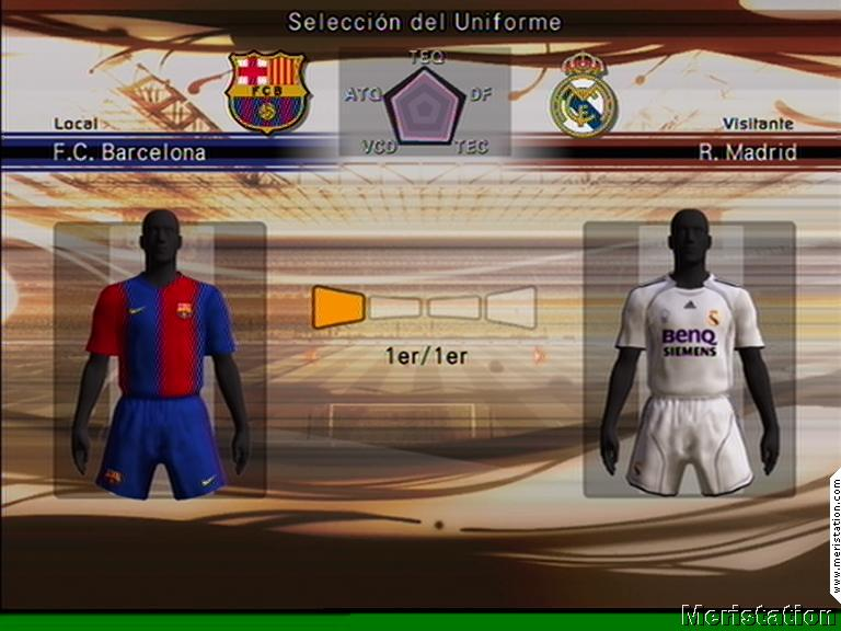 Imágenes de Pro Evolution Soccer 6 - MeriStation