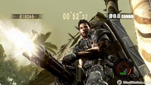 El Dlc De Resident Evil 5 Gold Edition Formaba Parte Del Original
