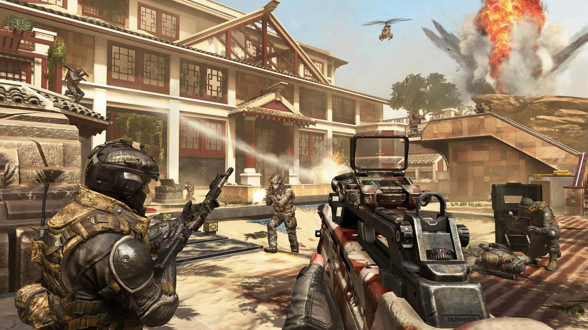 Imagenes De Call Of Duty Black Ops Ii Revolution Meristation