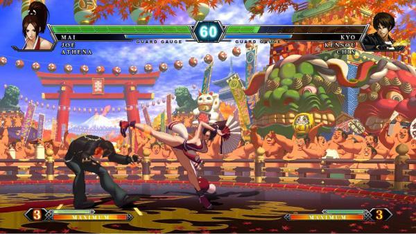 Algunos juegos de la saga The King of Fighters también