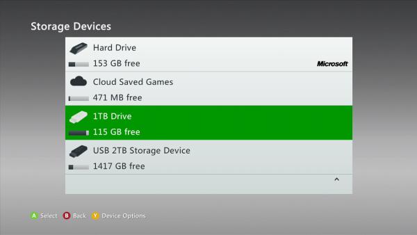 Xbox 360 soporta ahora discos duros de 2 TB - MeriStation