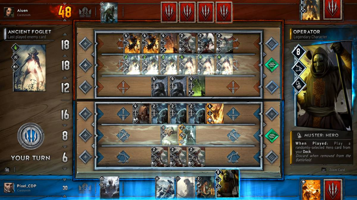 It is a photo of Printable Gwent Cards within reinforcement