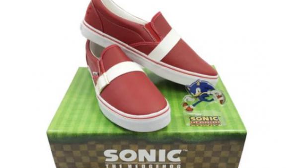 c2c4cbff Muestran los zapatos oficiales de Sonic por su aniversario - MeriStation