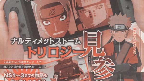 Oficial: Naruto Shippuden: UNS Trilogy llegará a Switch