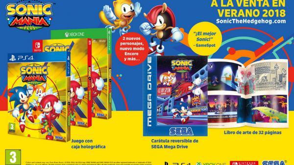 Sonic Mania Plus, con descuento para usuarios de Sonic Mania