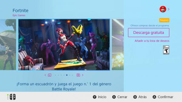 Cómo Descargar Fortnite Battle Royale En Nintendo Switch Meristation