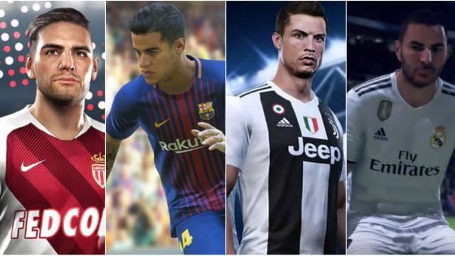 FIFA 19 y PES 2019: ¿qué licencias tiene cada juego