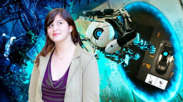 Kim Swift,  de las mujeres en la industria de los videojuegos.