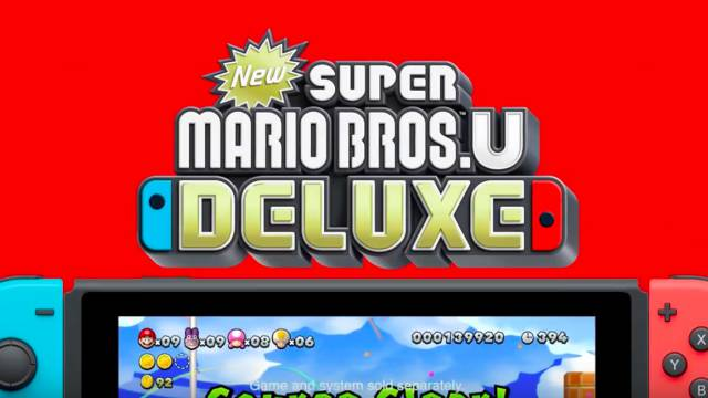 New Super Mario Bros  U Deluxe salta de Wii U a Switch