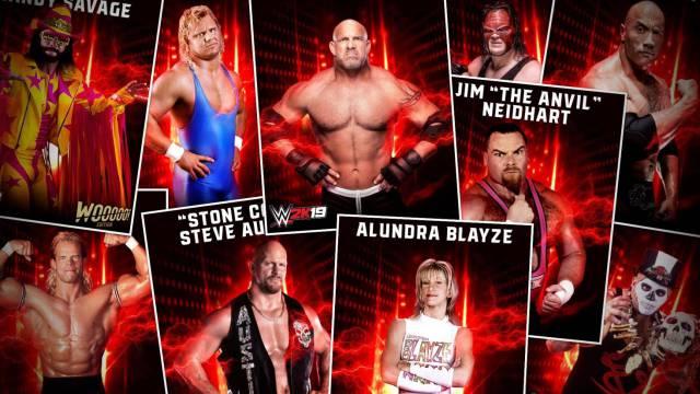 2K presenta el pase de temporada y los DLC's de WWE 2K19