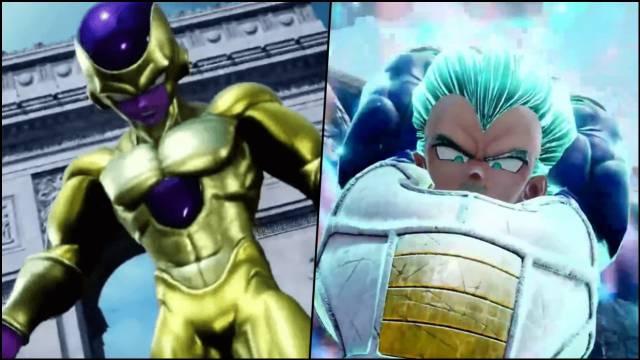 Jump Force confirma nuevas transformaciones de Goku, Vegeta
