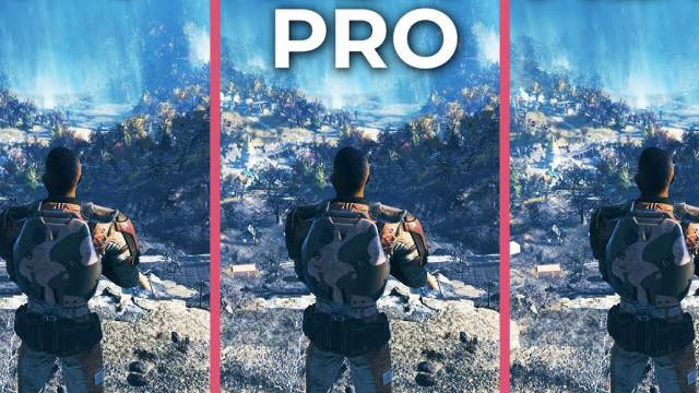 Comparativa Grafica 4k De Fallout 76 Pc Ps4 Pro Y Xbox One X