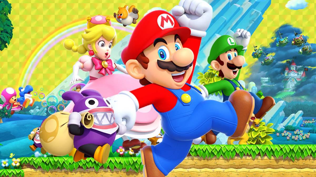 New Super Mario Bros U Deluxe comanda la lista de ventas en UK - MeriStation