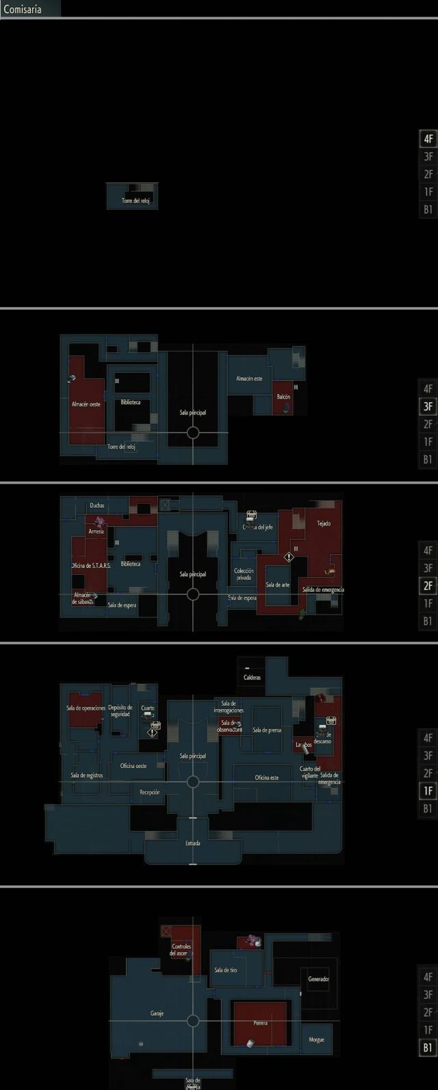 Guia Resident Evil 2 Comisaria Claire Ruta B Meristation