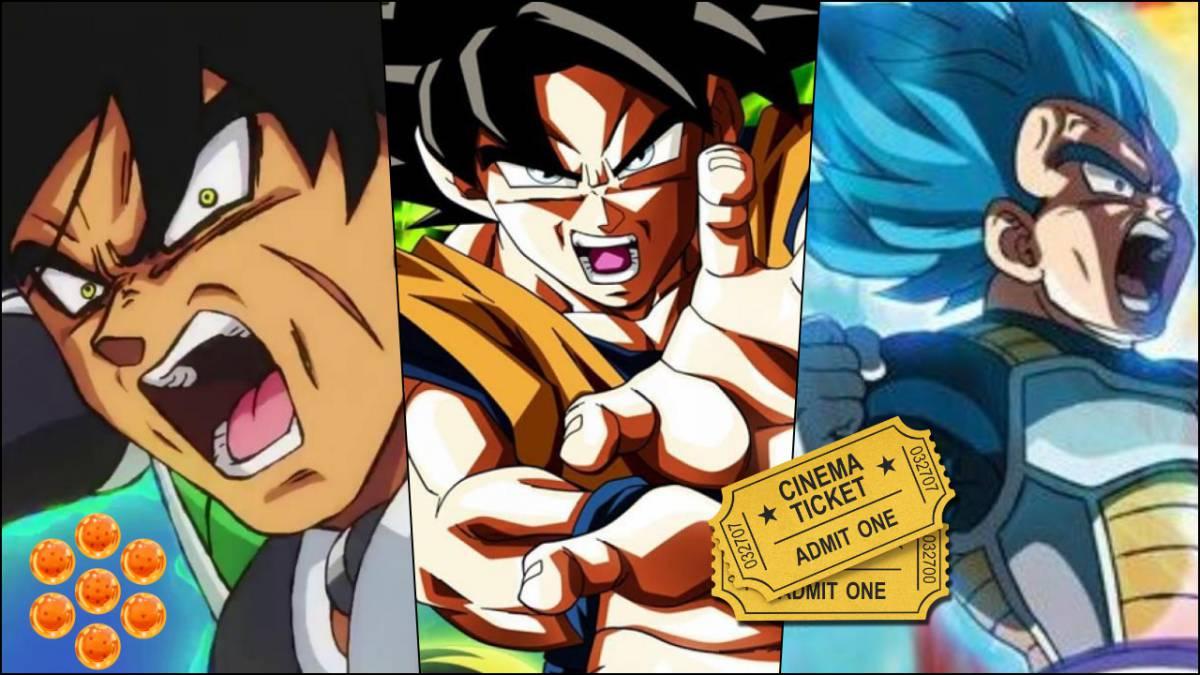 Dragon Ball Super Broly Llega A España Lista De Cines Fechas Y