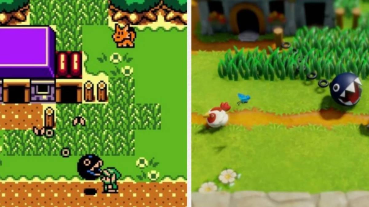 Nintendo Compara El Remake De Link S Awakening Con El