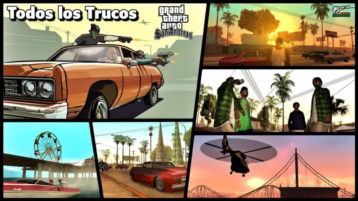 Todos Los Trucos Claves Y Códigos De Gta San Andreas En Pc Ps2 Ps3 Xbox Y 360 Meristation