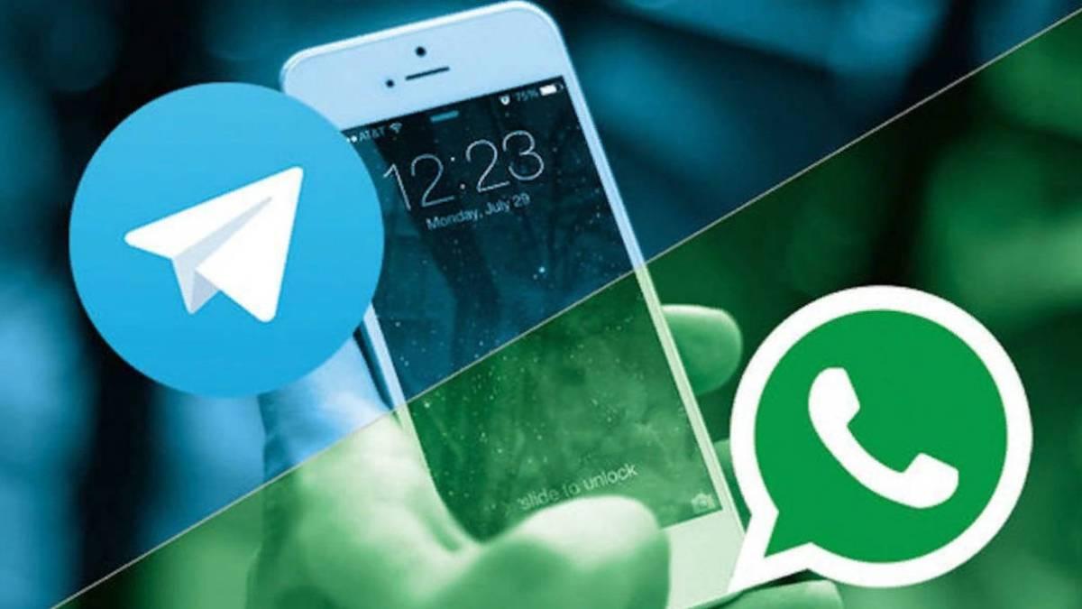 Resultado de imagen para telegram y whatsapp