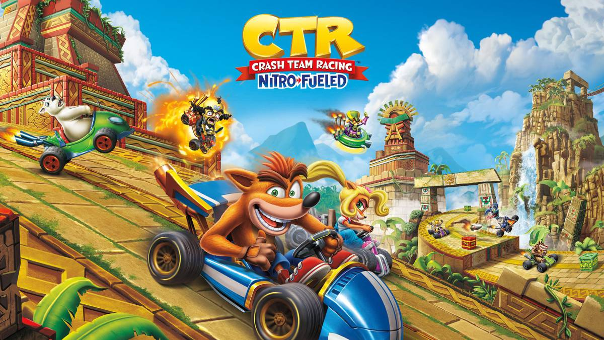 Resultado de imagen de portada Crash Team Racing Nitro-Fueled nintendo switch