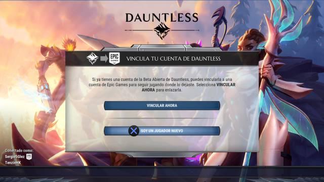Dauntless: cómo activar el cross-play y jugar en diferentes