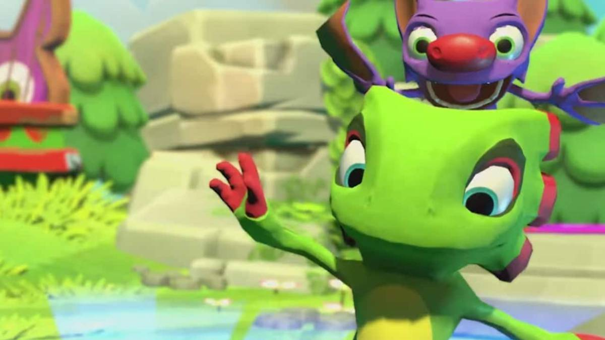 Resultado de imagen de Yooka-Laylee and the Impossible Lair""