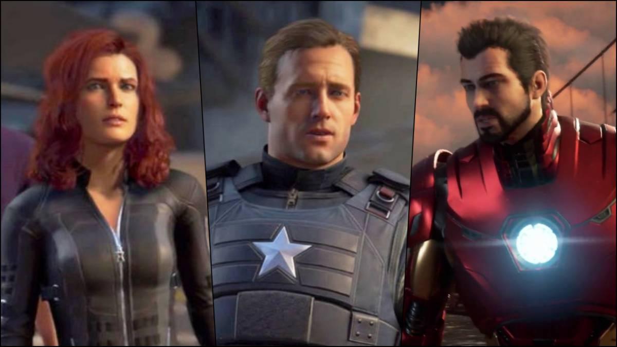 los actores de marvel's avengers defienden el diseño de sus