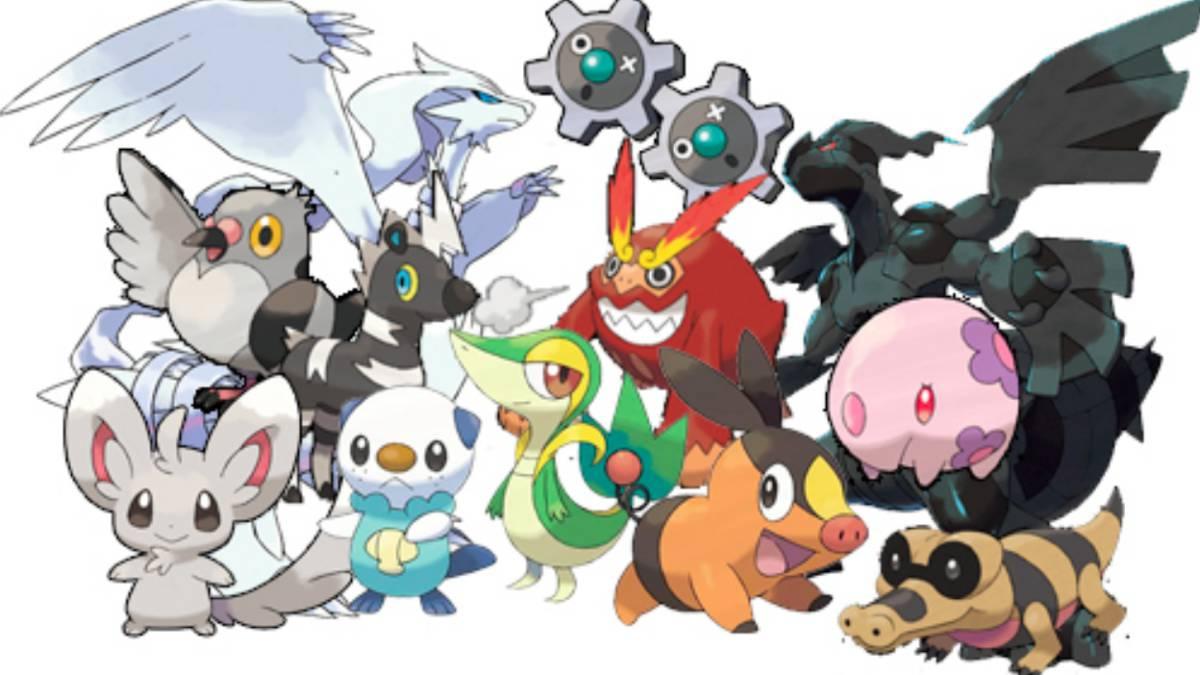 Pokémon de la quinta generación