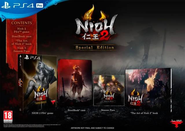 Resultado de imagen de nioh 2 collector's edition