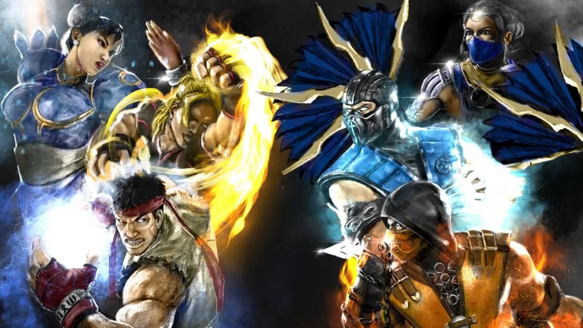 Capcom No Quiere Personajes De Street Fighter En Mortal Kombat