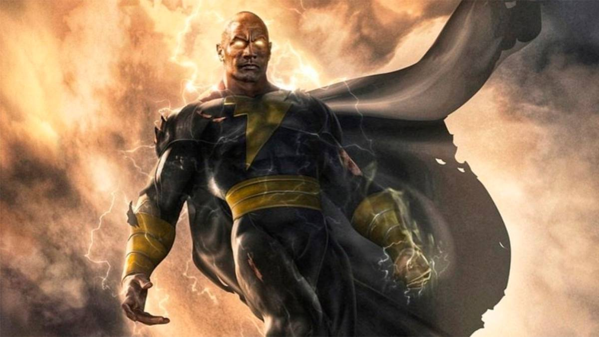The Rock como Black Adam, por Jim Lee.