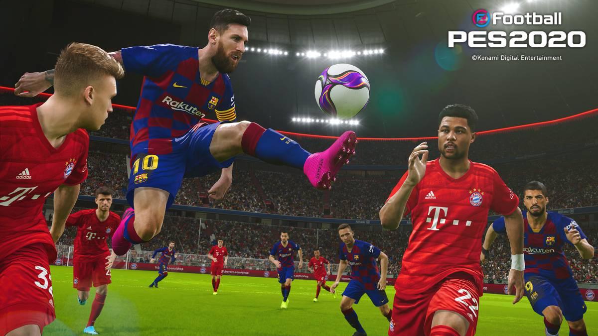GamePlay PES 2020