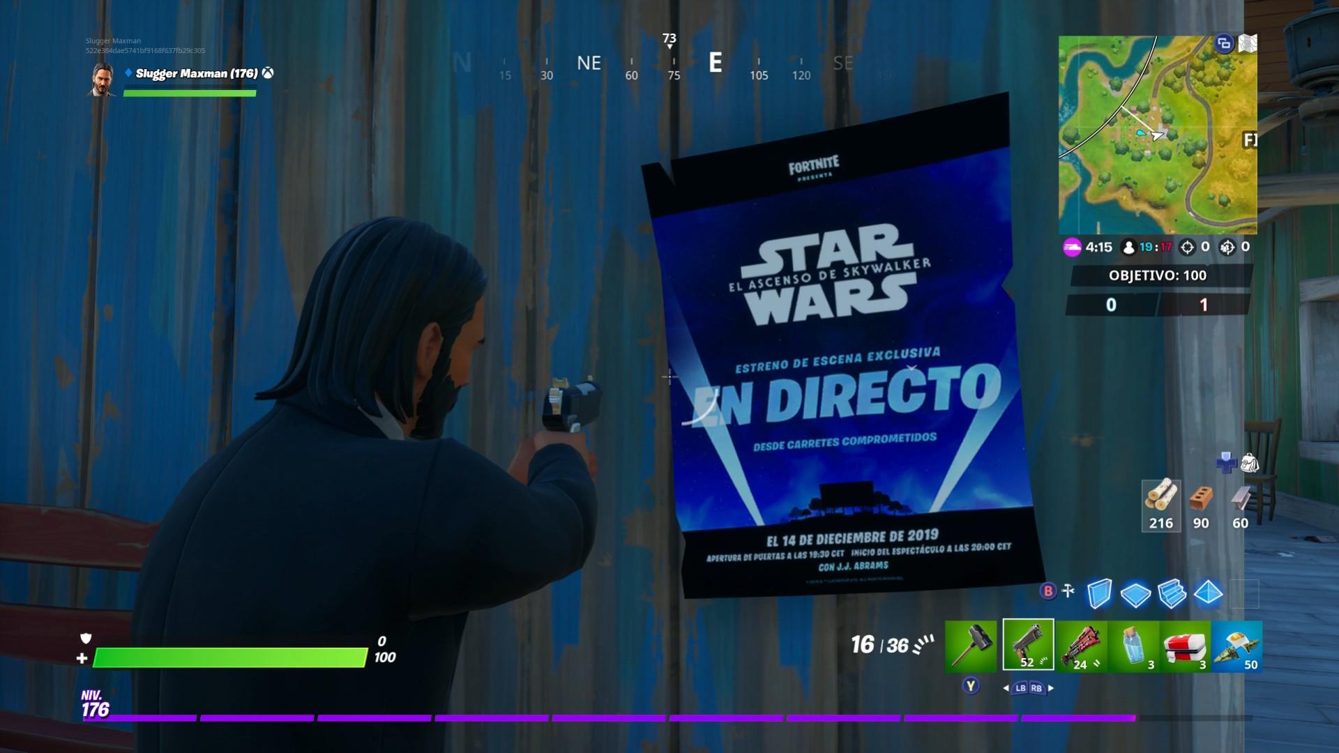 Fortnite Emitirá Una Escena De Star Wars El Ascenso De Skywalker En Exclusiva Meristation