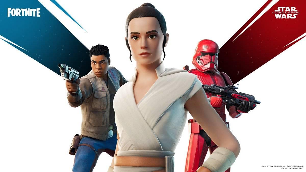 Fortnite x Star Wars: consigue los skins de Rey, Finn y Sith Trooper -  MeriStation