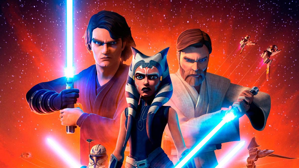 Star Wars: The Clone Wars Serie Completa Latino por Mega