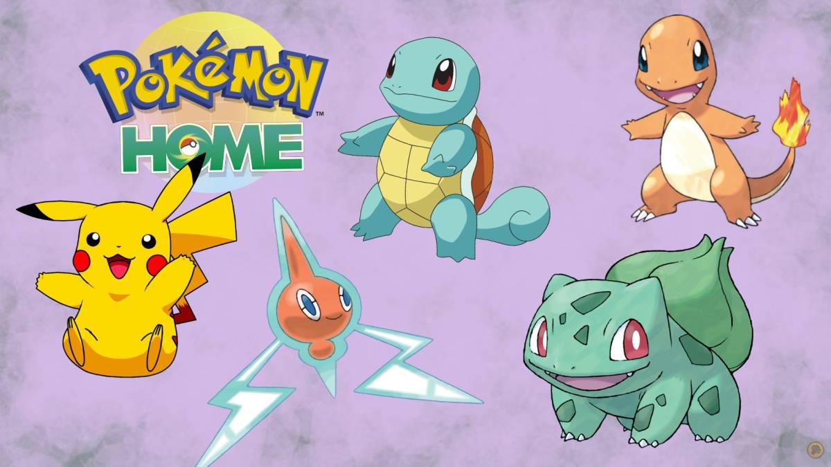 Diferentes Pokémon
