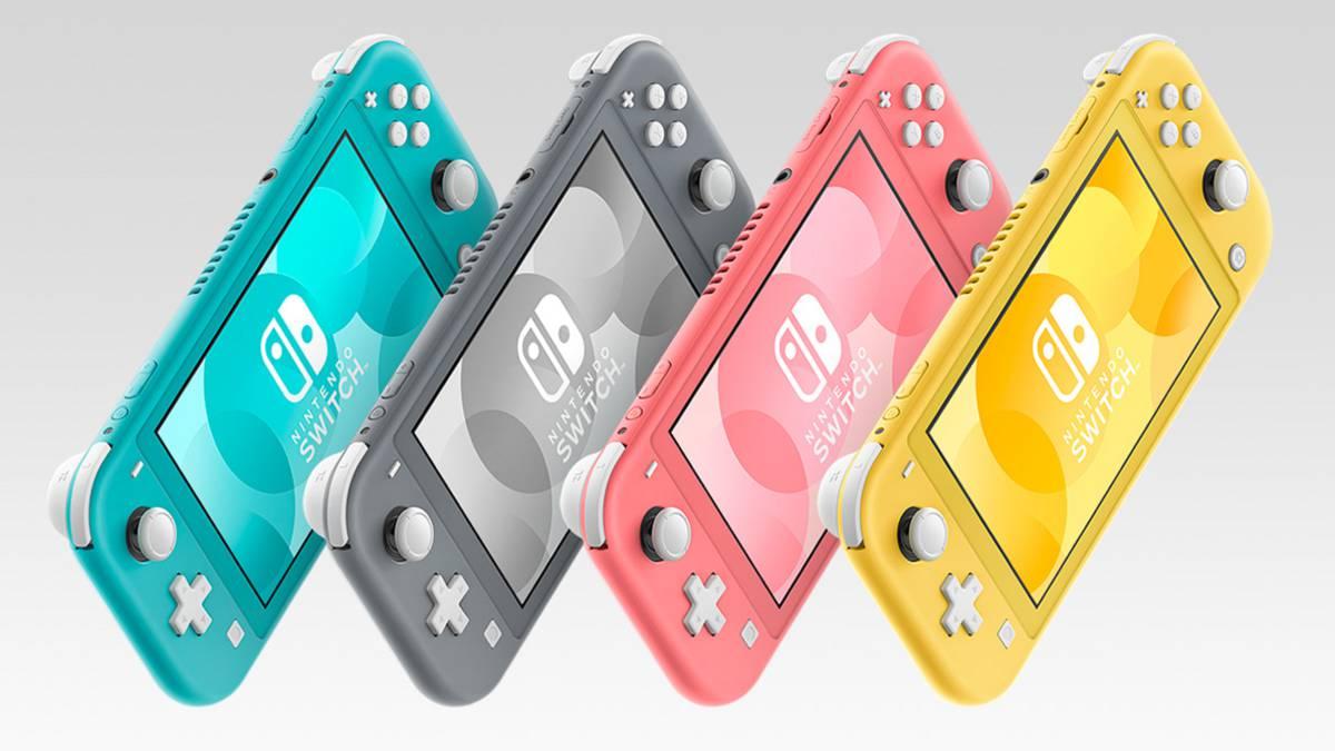 Anunciada Nintendo Switch Lite Coral, nuevo color para la consola ...