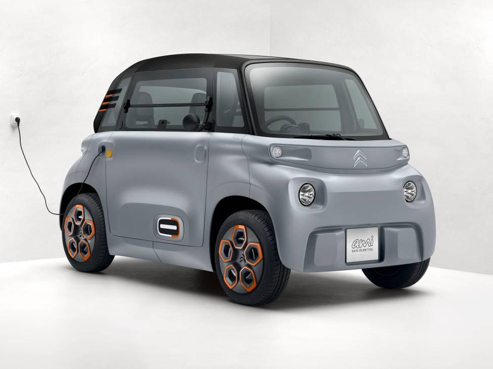 Image result for Citroën  mini-coche eléctrico urbano