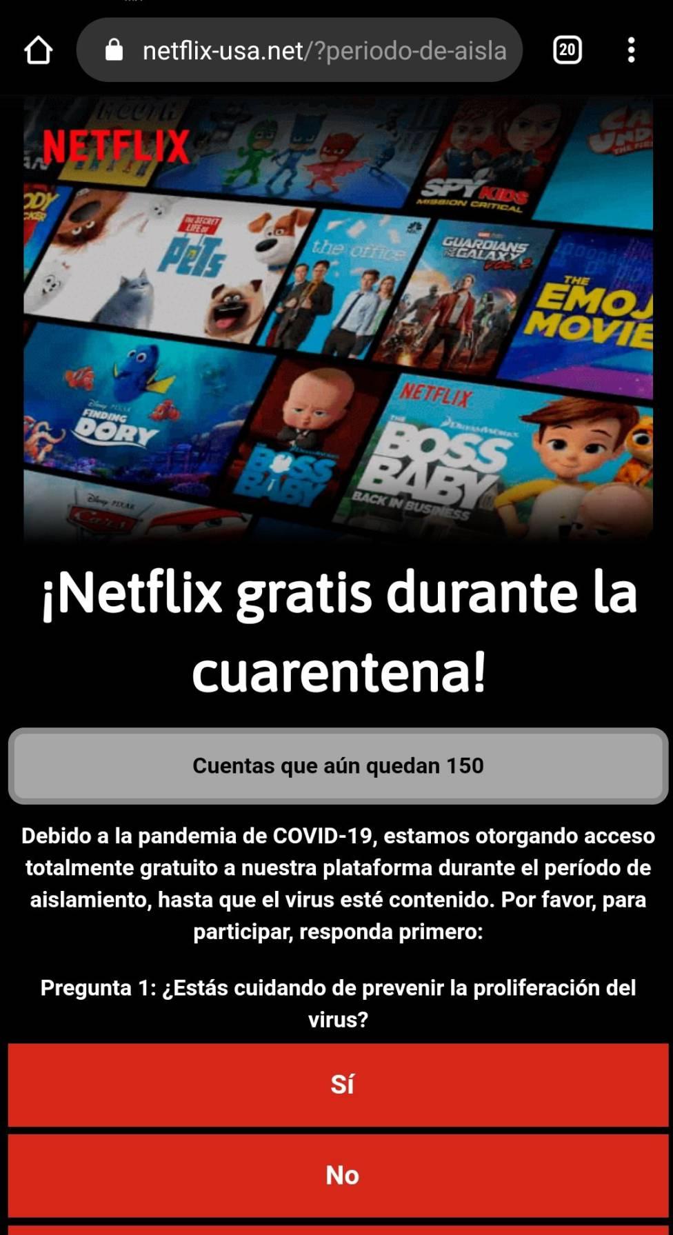 Netflix No Será Gratis Durante La Cuarentena Es Un Bulo As Com