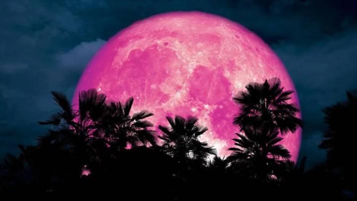 Cómo ver online por YouTube la Superluna Rosa 2020: apps para fotografiarla  - AS.com