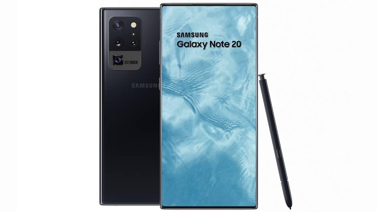 Una cámara oculta en el Samsung Galaxy Note 20, el detalle radical ...