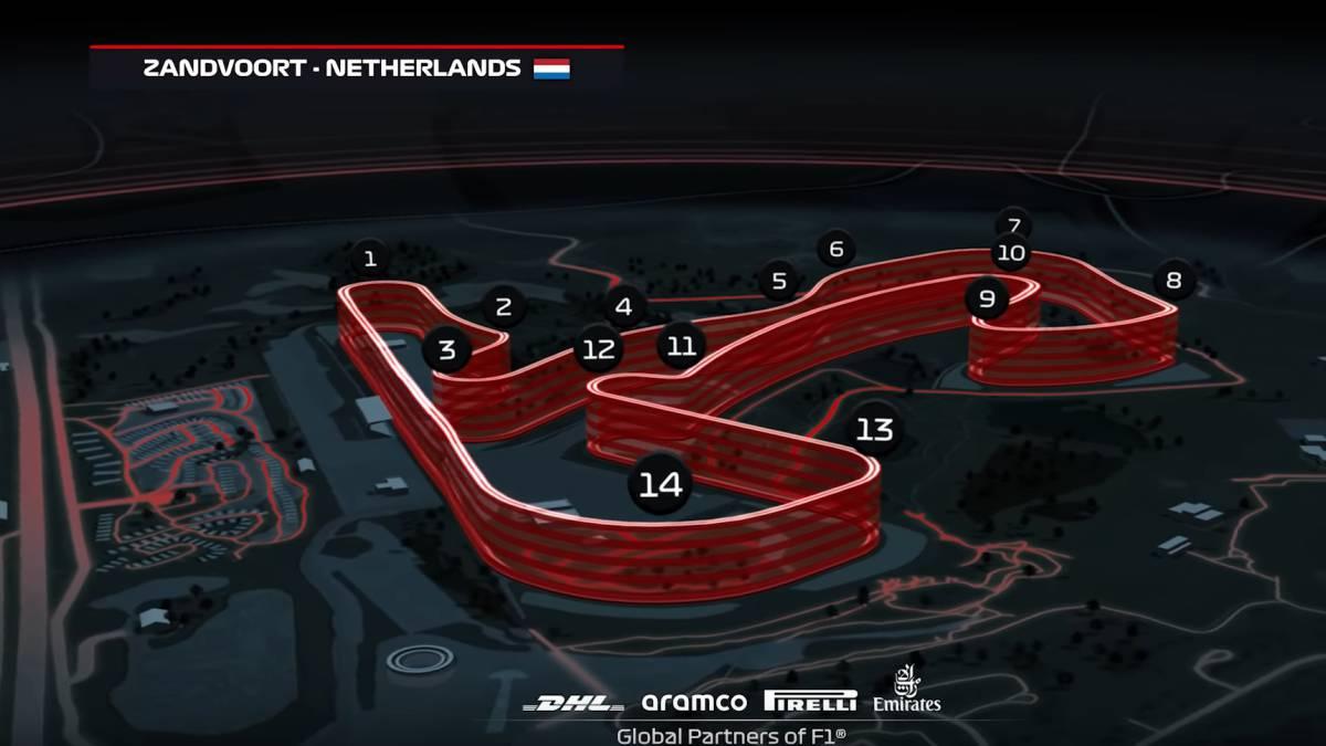 Verstappen descubre todos los secretos del nuevo circuito de Zandvoort en  F1 2020 - MeriStation
