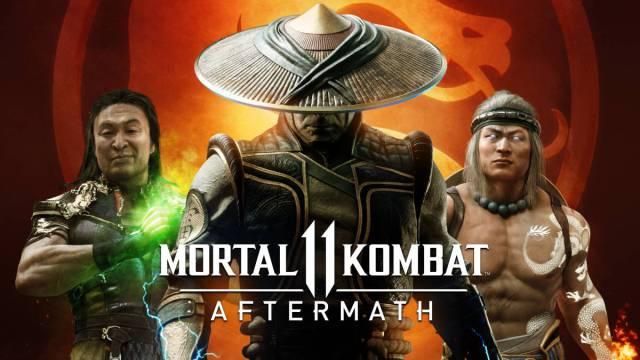 Mortal Kombat Aftermath es la continuacion directa del Mortal Kombat 11