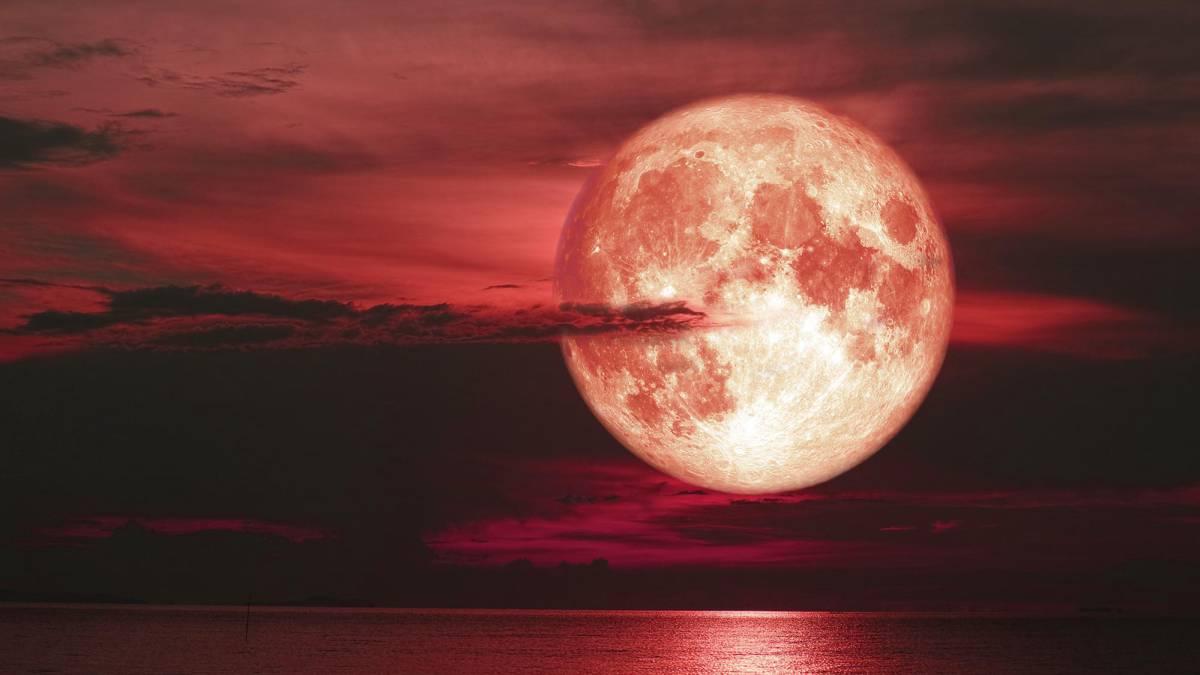 Eclipse de la Luna de Fresa: Cómo verlo online, Apps para ...