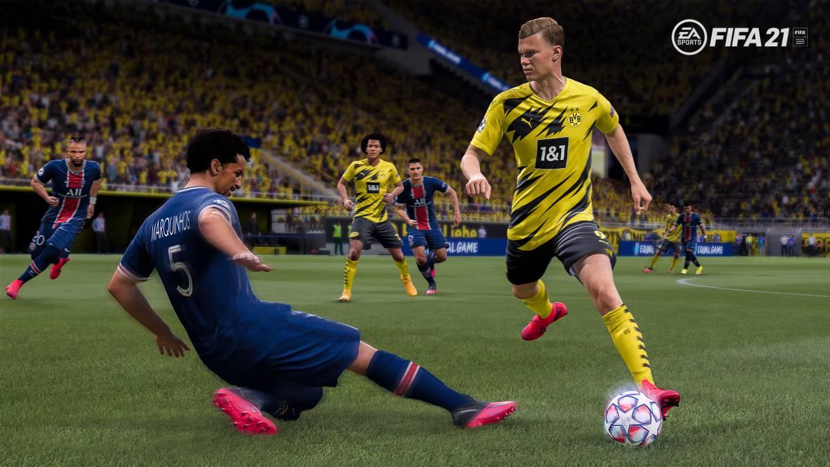 leves mejoras al jugar FIFA 21 jugar