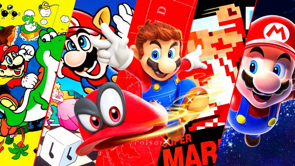 Todos Reino Corbata  Los mejores juegos de Super Mario - Top 10 - MeriStation